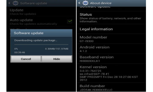 Galaxy S3: Android 4.1.2 Jelly Bean Update Hits India [How To]