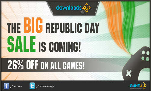 Republic Day Offer: Game4u Offers Great discounts On Gaming