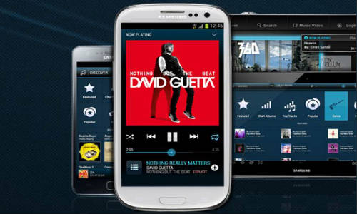 Samsung Music Hub Streaming Services Will Also Be Available