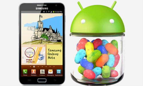 Android 4.1 Jelly Bean: Samsung Galaxy Note Update Coming Soon