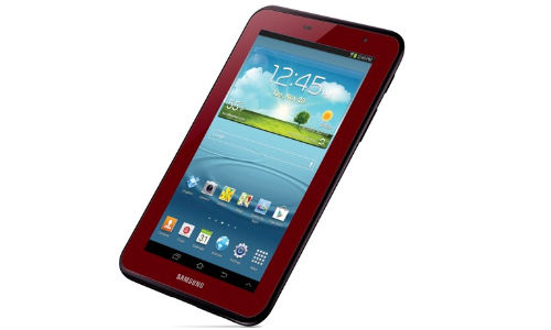 Samsung Galaxy Tab 2 7.0 Garnet Red Edition Out Now