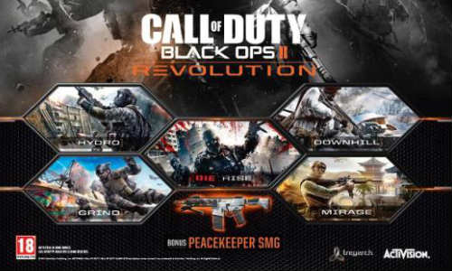 Call of Duty: Black Ops 2 Revolution DLC Trailer Released