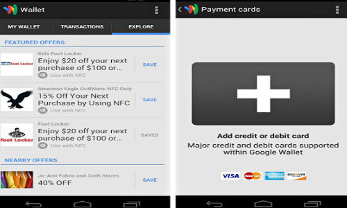 Google Wallet Updated: Now Supports Any Credit Or Debit Card
