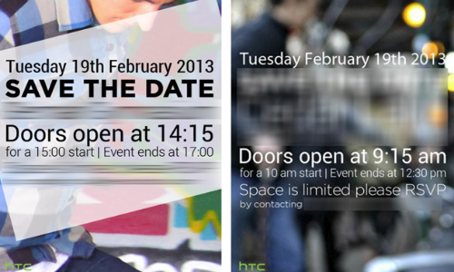 HTC M7 Confirmed To Get Unveiled on February 19 at NYC, London Events