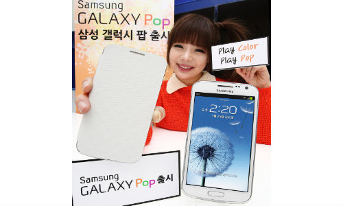 Samsung Galaxy Pop Android Smartphone Launched with Quad-Core