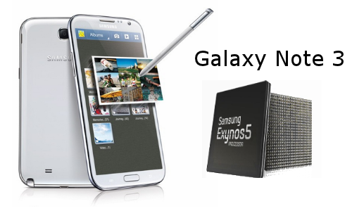 Samsung Galaxy Note 3 Rumor Says Phablet to Sport 8 Core Processor