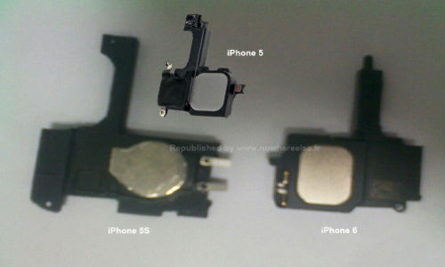 Apple iPhone 5S, iPhone 6: Alleged Images of Components Leak