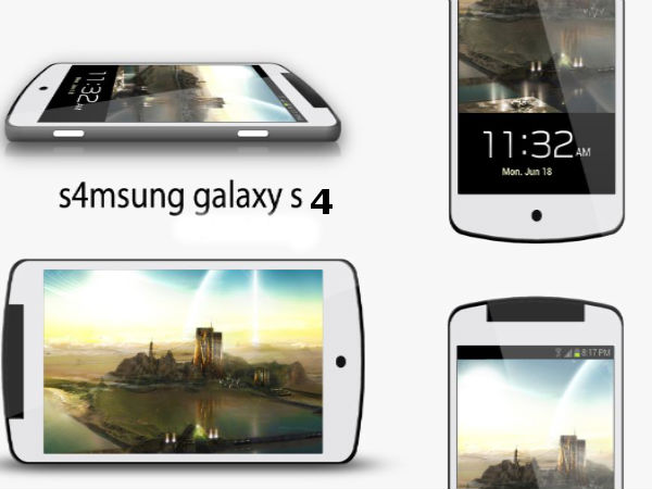 First render of Galaxy S4