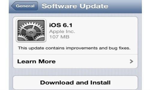 Apple iOS 6.1 Adoption Fastest Yet: 22 % Users Hit Upgrade in 36 hours