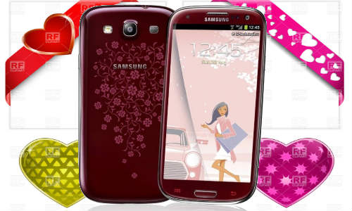 Galaxy S3 Gets Floral This Valentine: La Fleur Edition Released