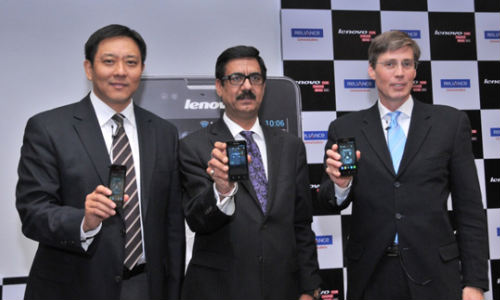 Lenovo RCOM To Launch 5 Budget Handset in India in 2013