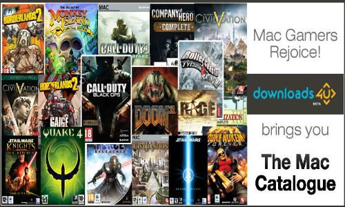 Game4u Introduces New Gaming Titles for Mac Gamers on Downloads4u