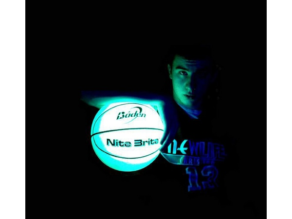 Glow in the Dark Basketball by Baden