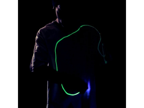 Interactive Glow T-Shirt by Glow Threads
