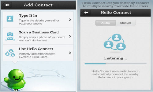 Evernote Hello for iPhone Updated to v2.0