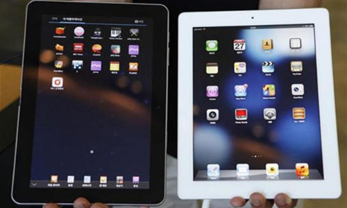 Tablet Market Share: Samsung and Apple Score Hot Spots in Q4 2012
