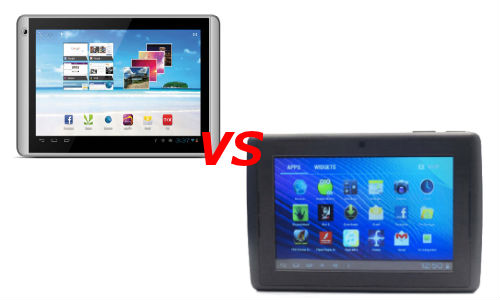 Videocon VT71 vs Lava eTab Z7H+: Indian Budget Android Tablets Fight