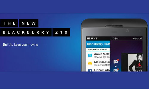 BlackBerry Z10 to Hit India This Month: Also Spotted at eBay Rs 45,000