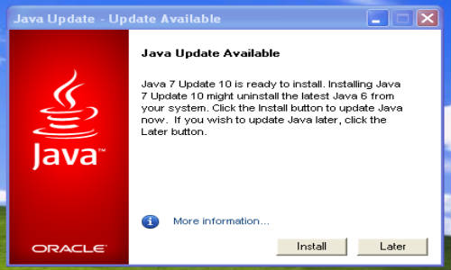 Oracle Rolls Out Another Java Security Update