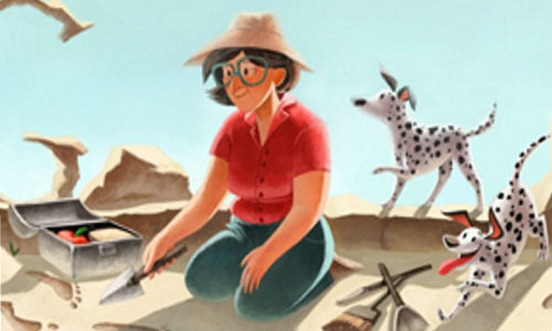 Google: Mary Leakey Doodle Out Today To Celebrate 100th Birthday