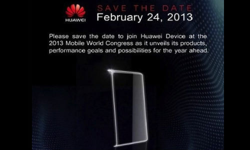 Huawei Sends Out Invite for MWC 2013 Event: Ascend P2 Launch On Cards