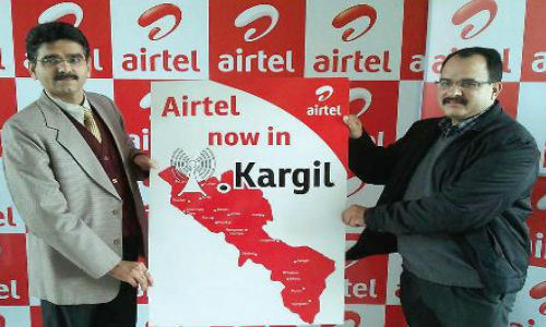 Bharti Airtel Launches Mobile Services in Kargil