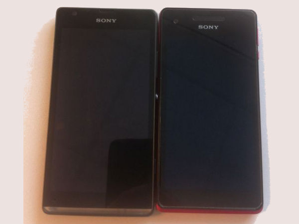 Sony Xperia SP Images Leak