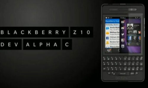 BlackBerry Dev Alpha C Phone Launched: An Unpolished Q10 Handset?