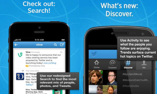 Twitter Updates Search And Discover Features For Mobile Platforms