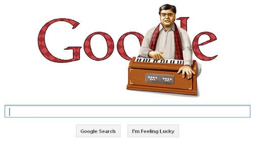 Google Posts Jagjit Singh Doodle