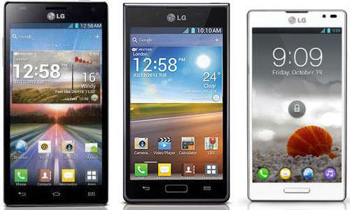 Android 4.1 Jelly Bean: LG Optimus 4X HD, L7 And L9 Updates