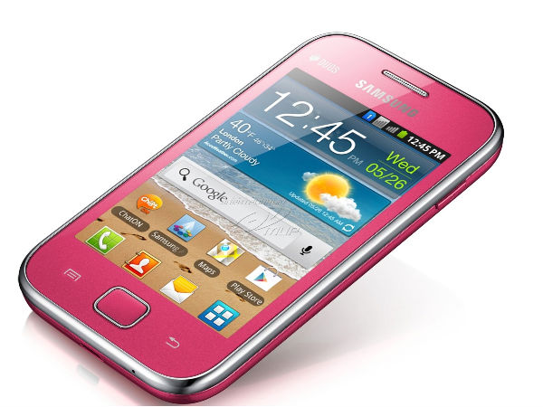 Samsung Galaxy Ace Duos S6802 - PINK: