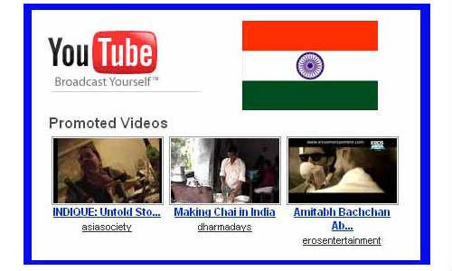 Youtube India: 30 Percent Videos are Watched on Mobile Phones