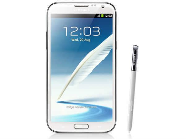 Samsung Galaxy Note 2 N7100 (Marble White):