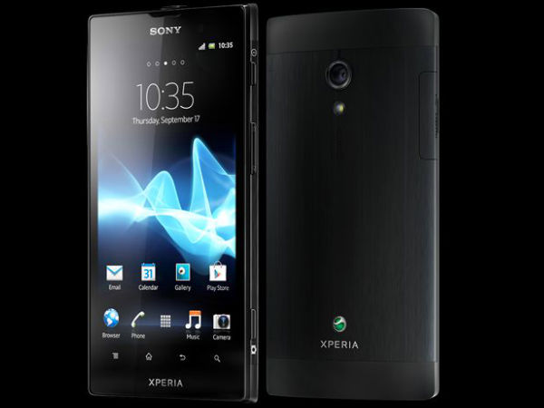 Sony Xperia Ion (Black):