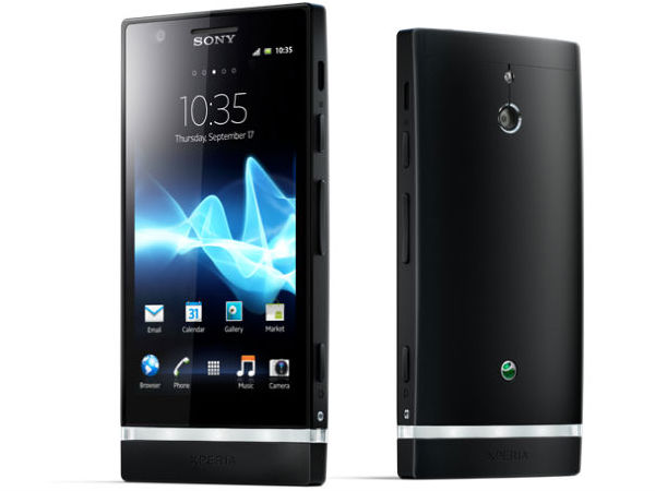 Sony Xperia P (Black):