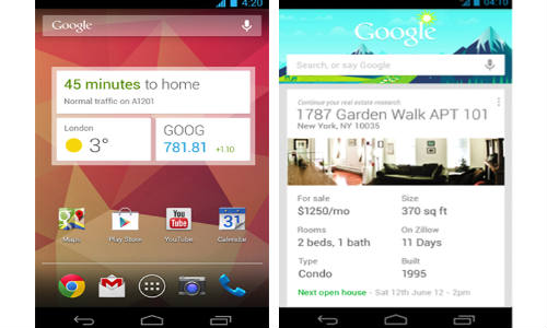 Google Search Android App Updated with Google Now Widget and Cards