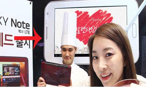 Samsung Flaunts Unannounced Galaxy Note 8.0?