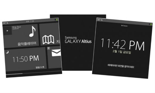 Samsung Galaxy Altius: Is it Smartwatch or A Mobile Operating System?