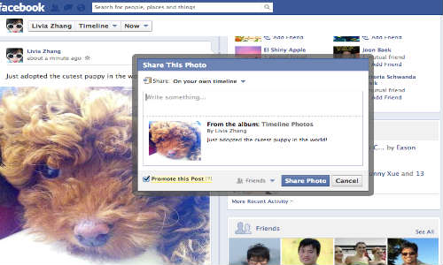 Facebook Will Now Charge You to Promote Your Friend's Post