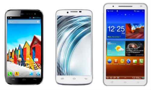 Micromax A116 Canvas HD vs Lava Xolo A1000 vs Swipe MTV Volt