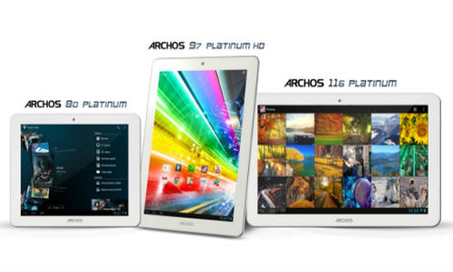 Archos 80, 90 HD, 116: New Android Based Platinum Tablet Announced