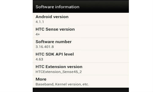 Android Jelly Bean 4.1 Update Makes A Landing on HTC One S