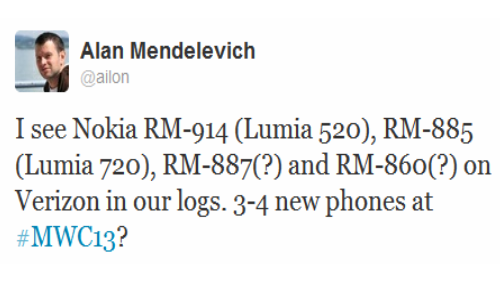Lumia 520, 720, EOS, Catwalk: 4 Nokia Smartphones Rumored for MWC 2013