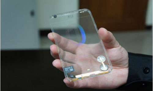 Polytron Unveils Transparent Smartphone Display Prototype