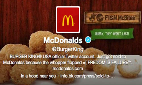 Burger King Twitter Account Back After the Hack Attack