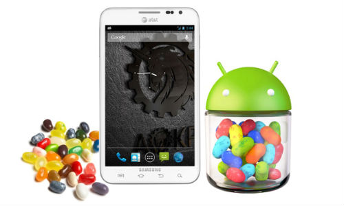 Samsung Galaxy Note Receives Official Android 4.1.2 Jelly Bean Upgrade: How To Install?