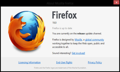 Mozilla Firefox 19 for Windows, Mac & Linux Now Available for Download