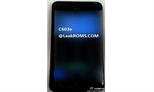 HTC 603e Leaks Online: Is it the Chinese Version of HTC One SV?