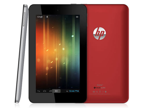 HP Slate 7 - Coming this April